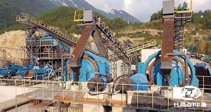 河卵石制砂生产线都有哪些设备组合?