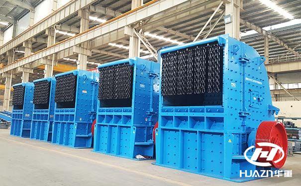 值得一看的是时产200吨的环保反击碎石机