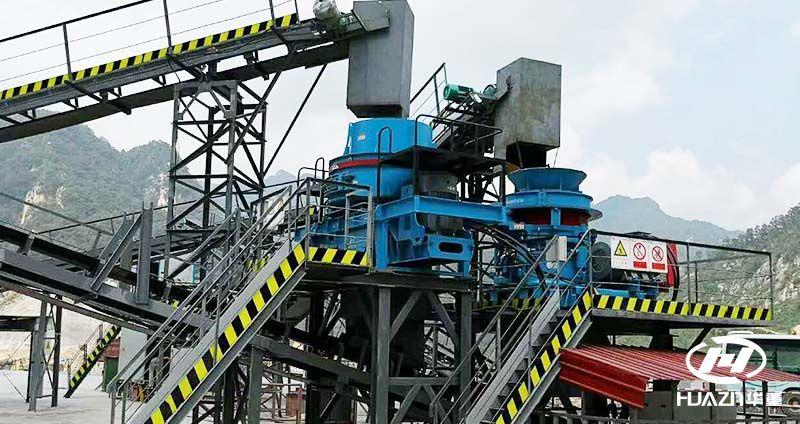 环保型青石制砂机已成为砂石设备的主力