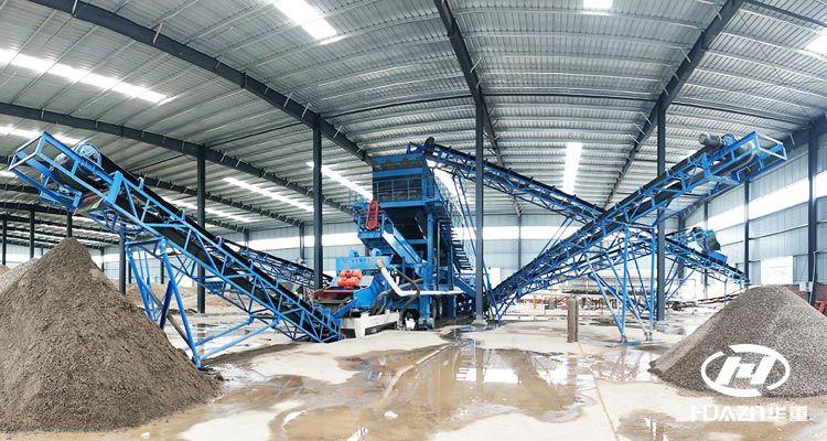 时产500吨砂石骨料生产线破碎设备