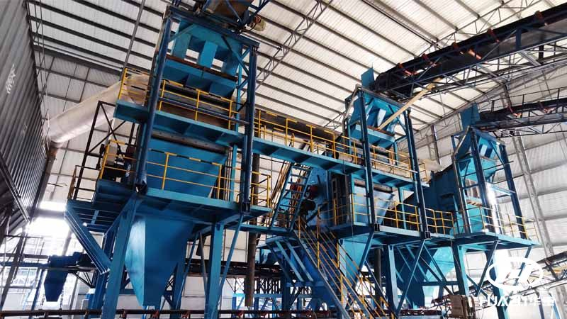 云南开远市2000万吨/年砂石骨料生产线负荷试机运行