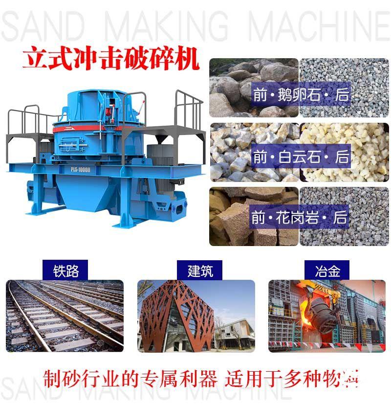 制砂机应用领域