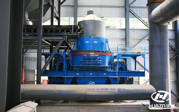 规格的成品砂石料可以选择冲击式制砂机