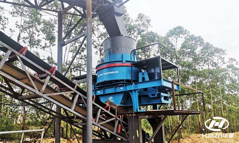 制砂机技术研发对生产高质量的机制砂有决定性作用
