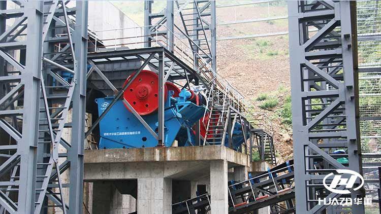 砂石骨料生产线粗碎系统