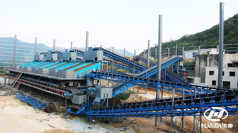 时产2000千吨砂石骨料生产线-砂石料生产线设备厂家