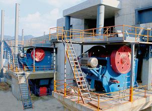 安徽池州市时产量2000吨砂石骨料生产线