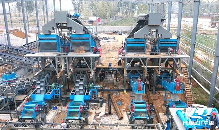 石灰石制砂生产线主要用到的主设备有哪些?