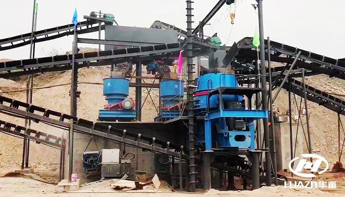 鹅卵石破碎工艺生产流程