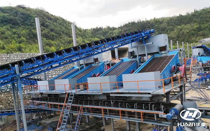 年产1500万吨砂石骨料生产线的组成