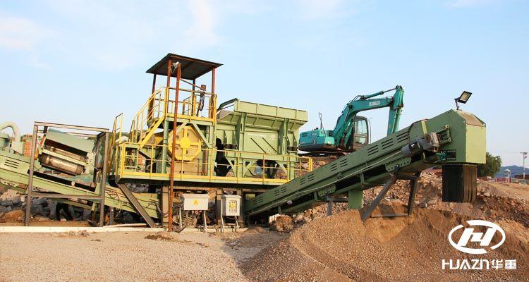 移动式砂石骨料生产线