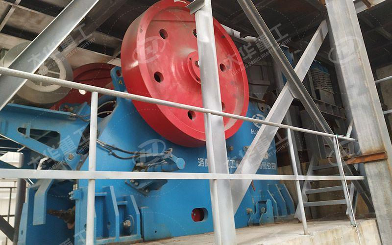 广西某石料厂时产500吨石灰石项目环保epc项目